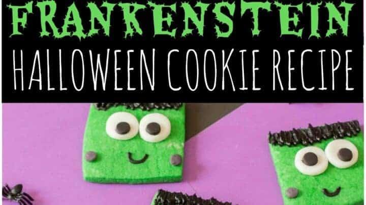 frankenstein cookies