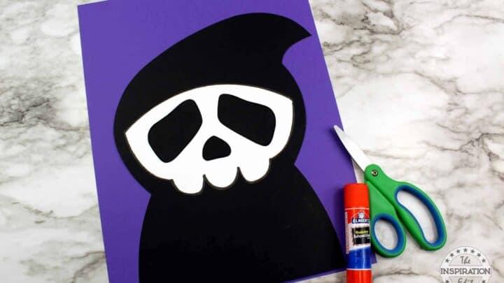 grim reaper craft for kids