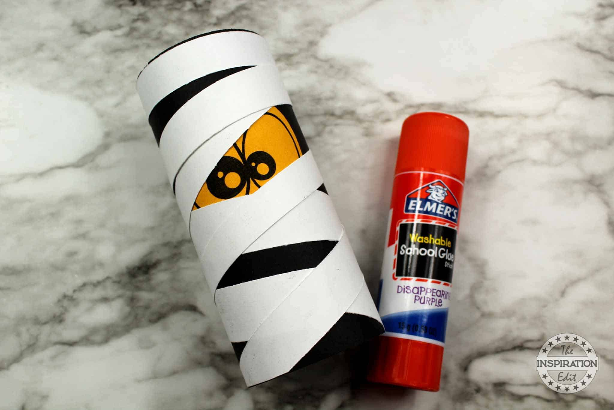 halloween mummy craft idea for kids