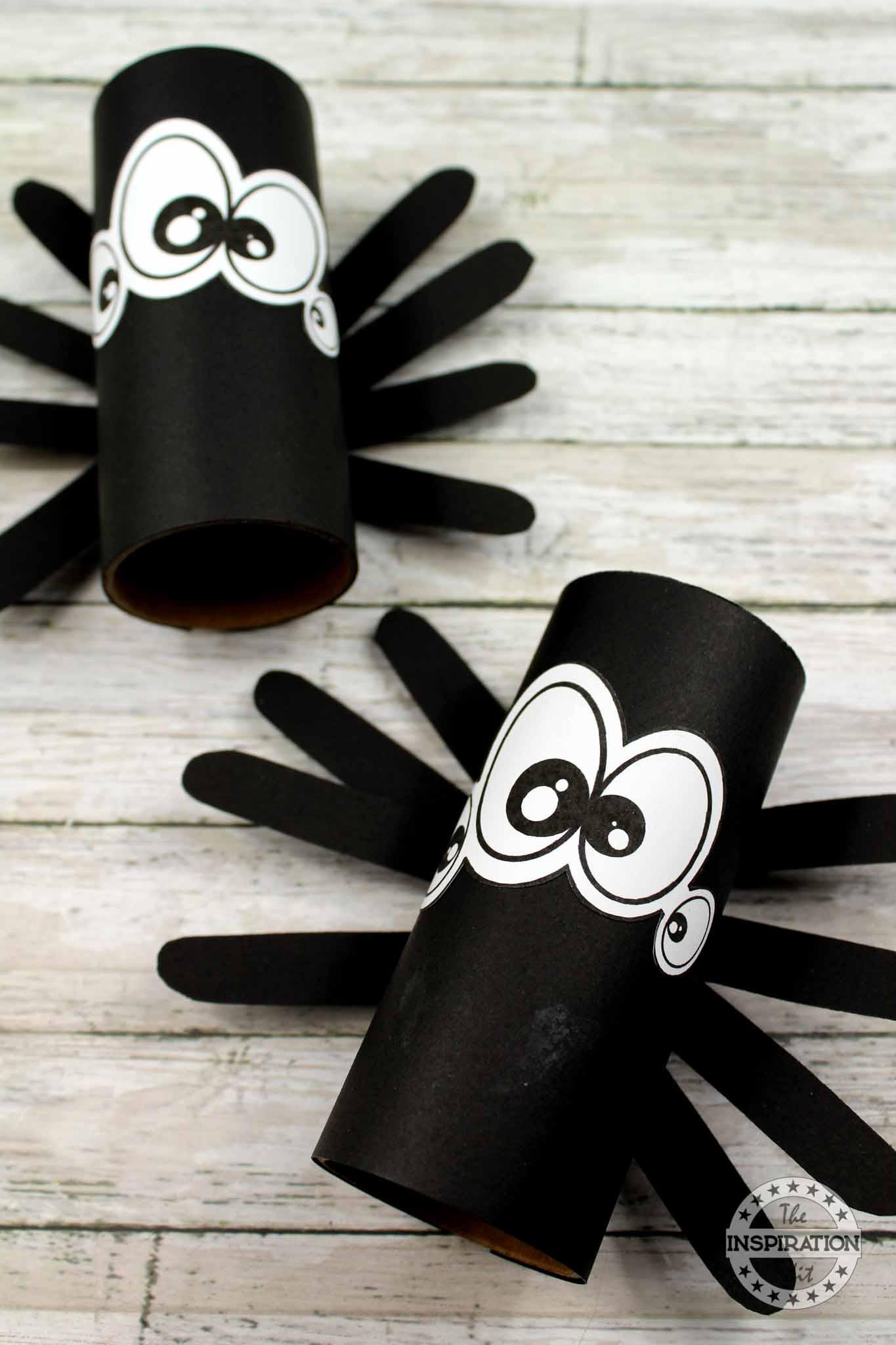 easy preschool spider craft