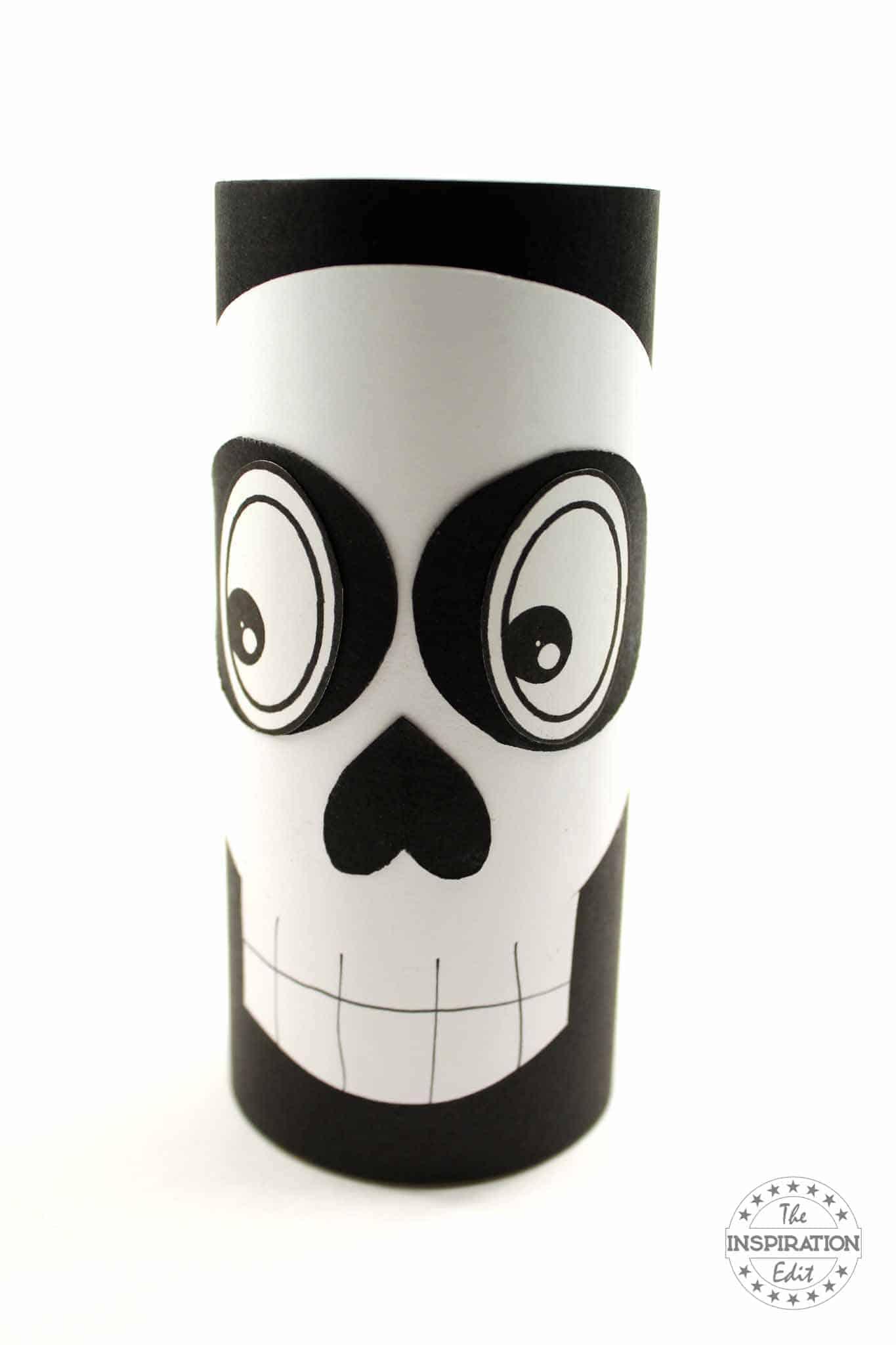 halloween skeleton craft for kids to make