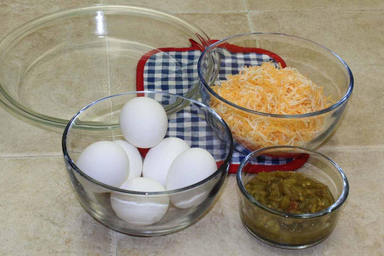 ingredients for mexican breakfast casserole  recipe