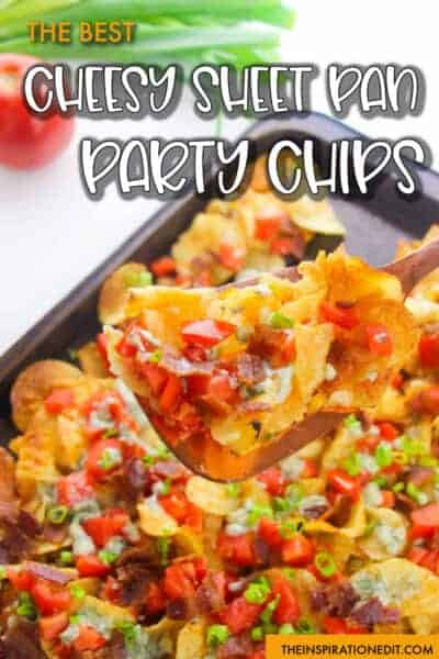 CHEESY SHEET PAN PARTY CHIPS