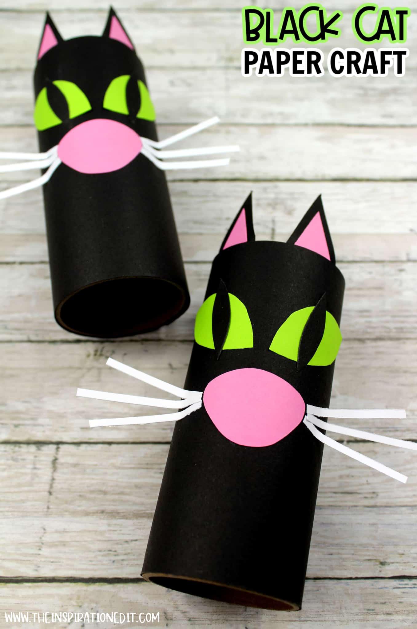 black-cat-paper-craft