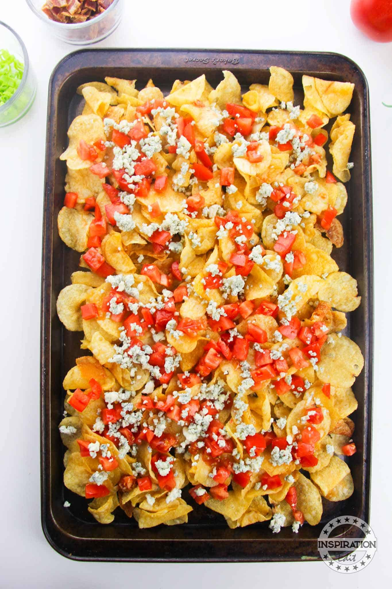 cheesy party chips