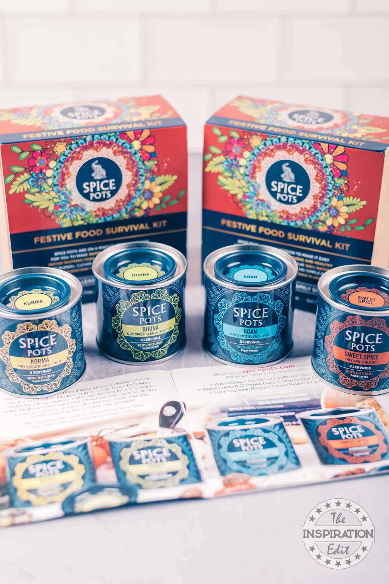spice pots for christmas