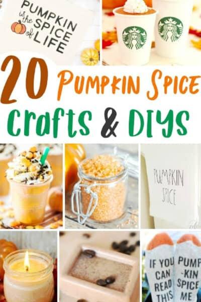 pumpkin spice crafts