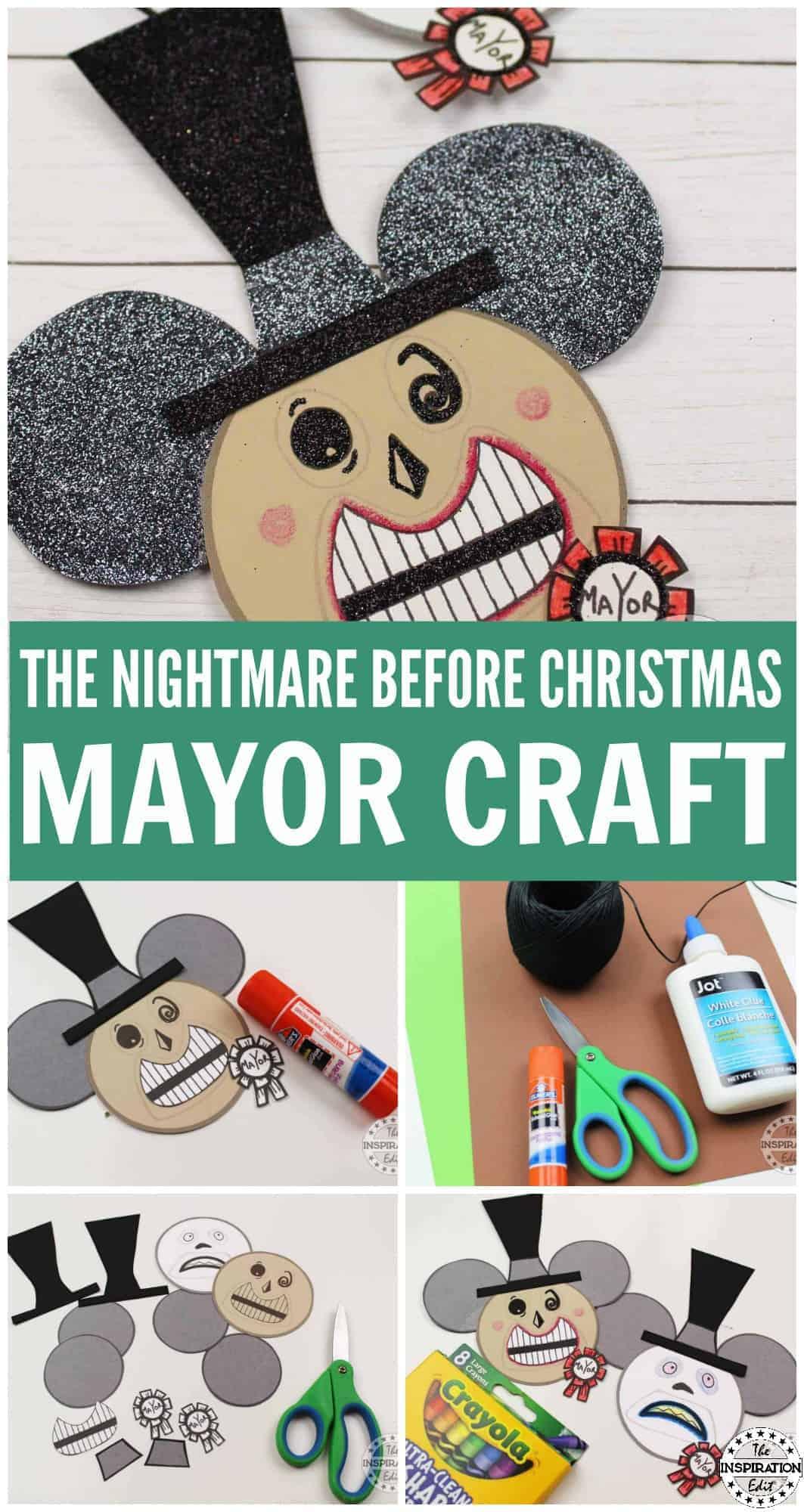 the nightmare before christmas mayor craft