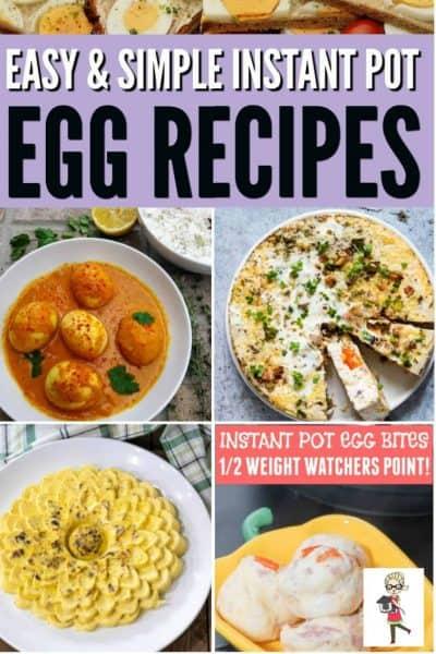 instant pot egg recipes