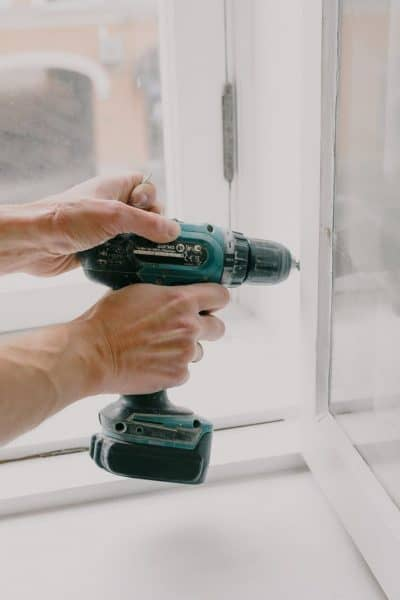 using a drill for home improvements