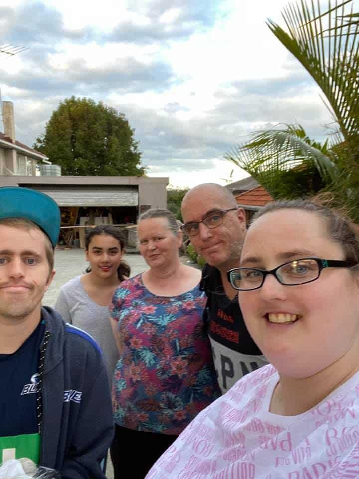 key family photo in New Zealand