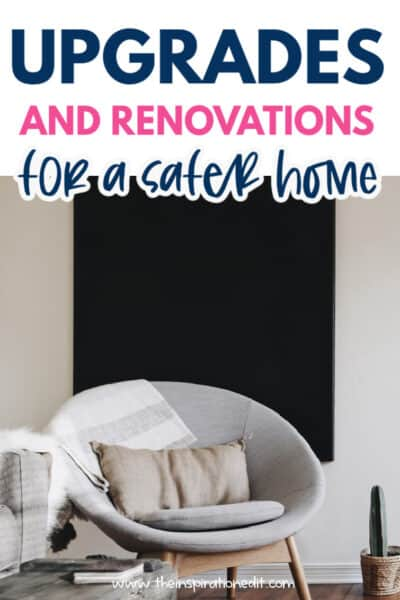 upgrades for a safer home