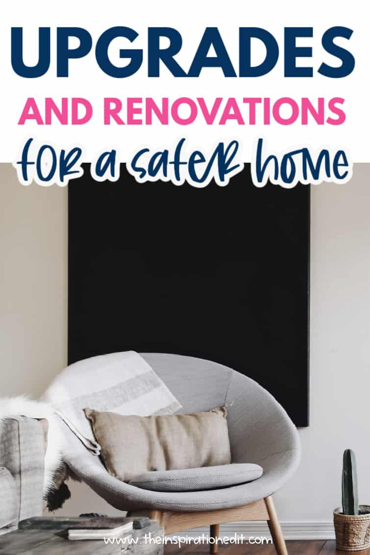 upgrades for a safer home