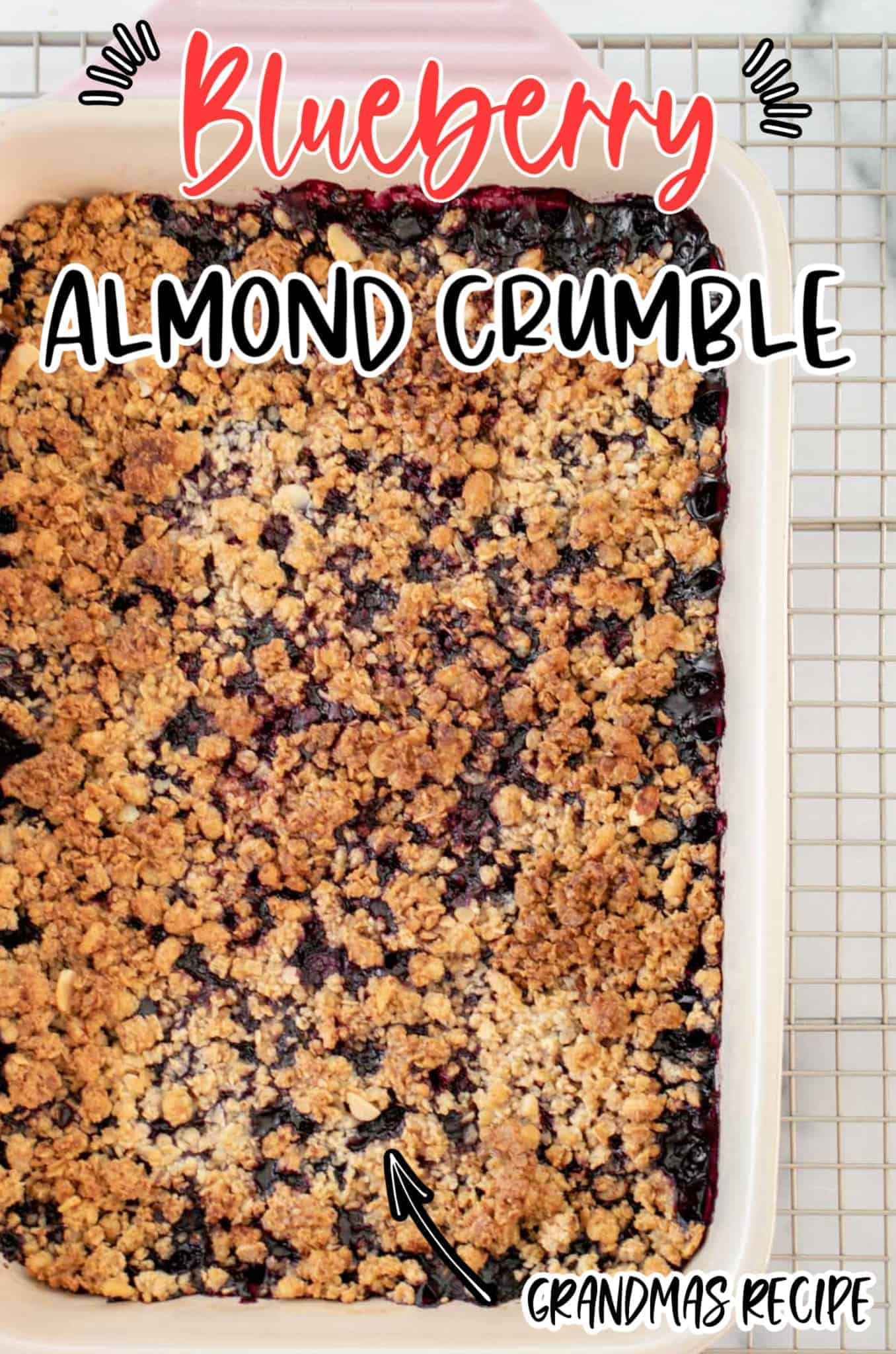 Blueberry Almond Crumble