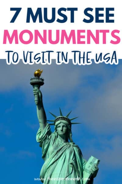 Monuments to visit in America