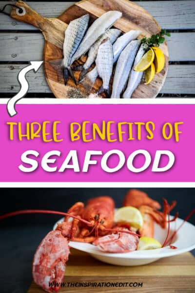 Benefits of eating seafood