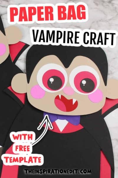 VAMPIRE PUPPET FOR HALLOWEEN