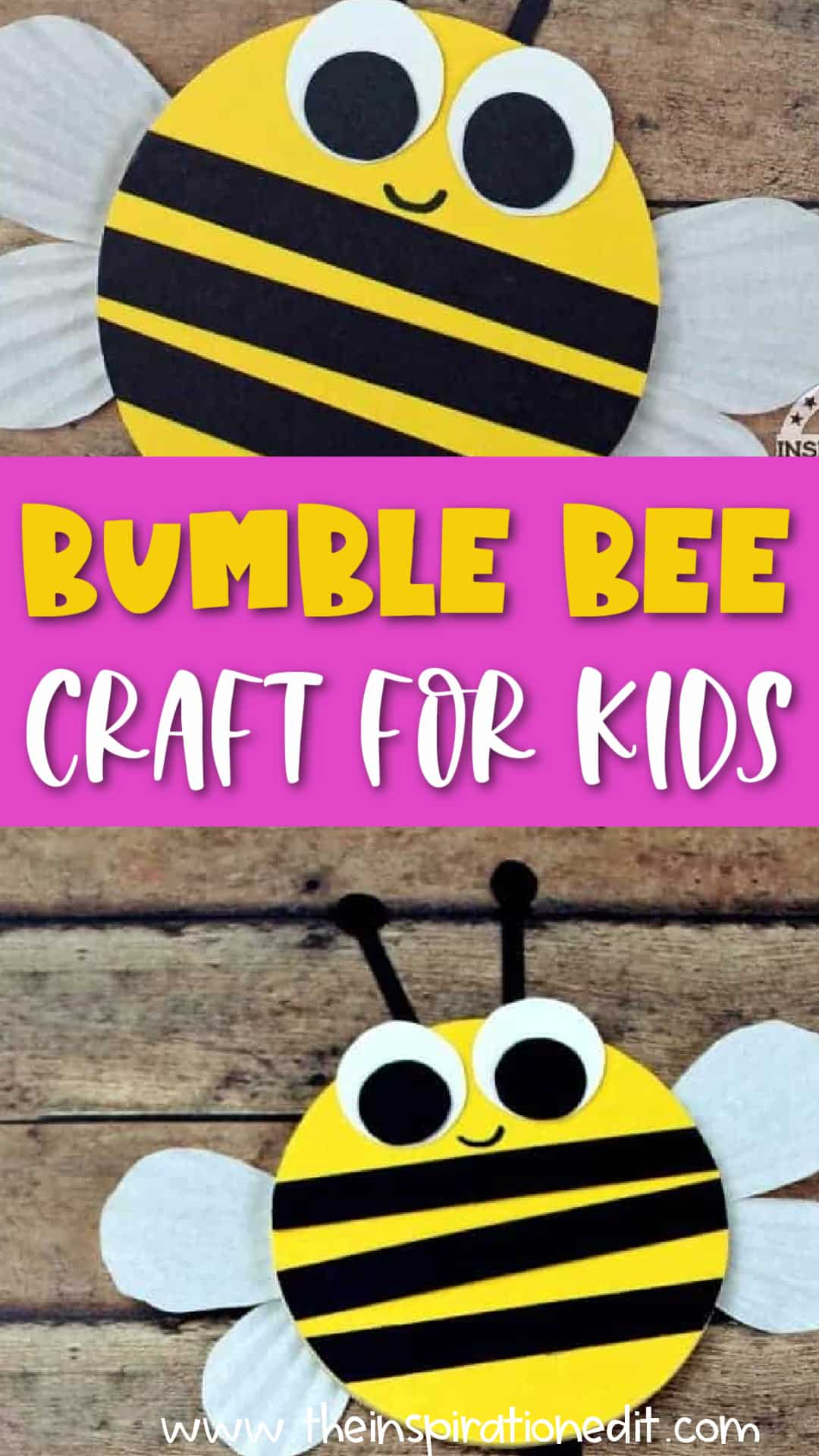 bumble-bee craft for kids