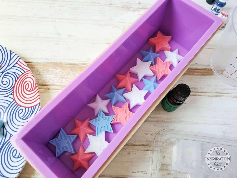 3d star soap