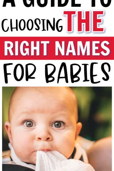 BABY names