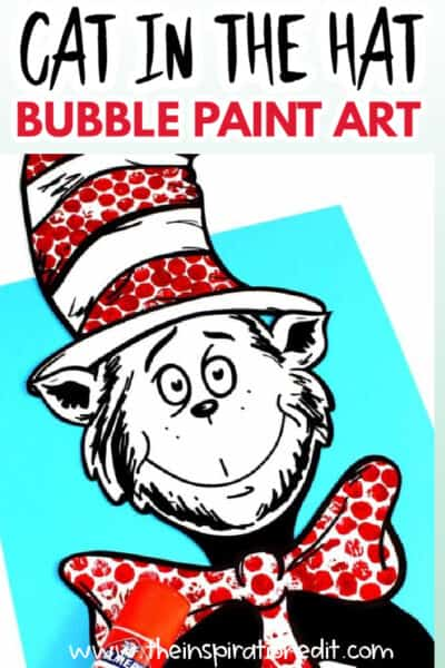 cat in the hat art project for kids