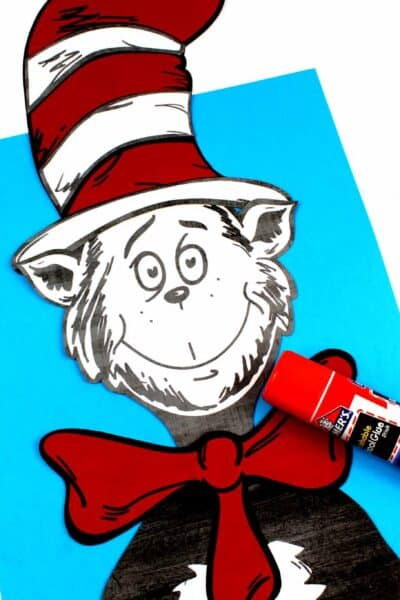 Cat In The Hat Cereal Box Craft 3