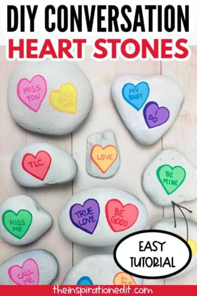 HEART ROCK ART