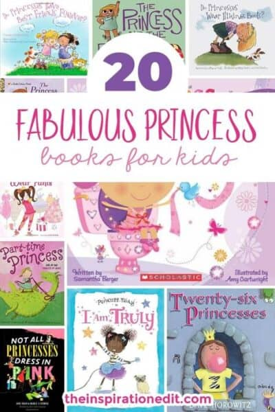 princess books for kids