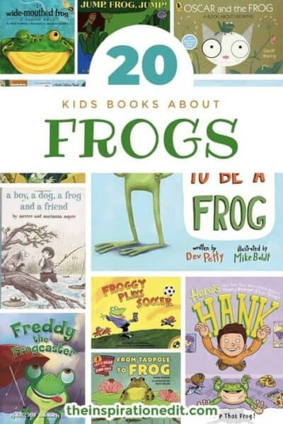 kids frog books