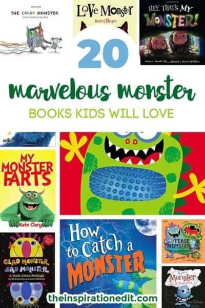 monster books for kids