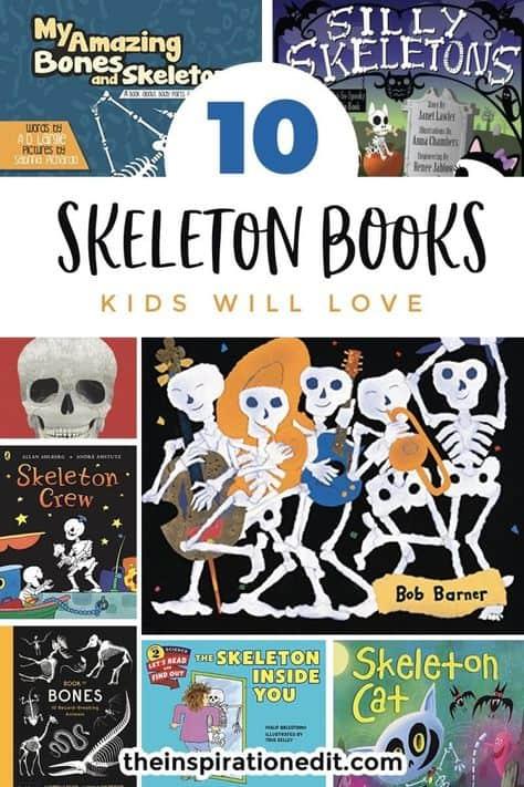 kids skeleton books