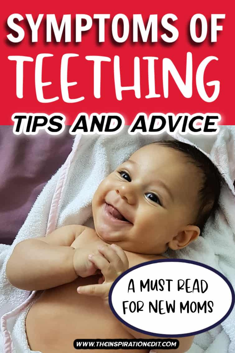 BABY TEETHING SYMPTOMS A BABY SMILING