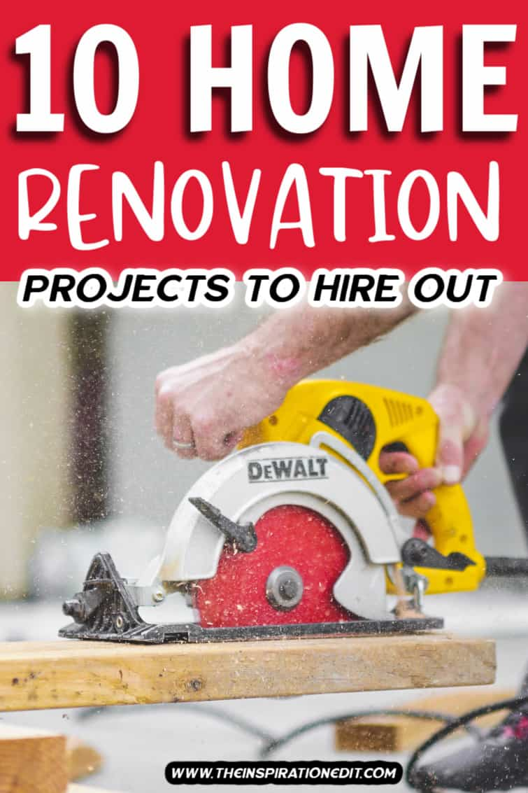 RENOVATION PROJECTS TO HIRE OUT