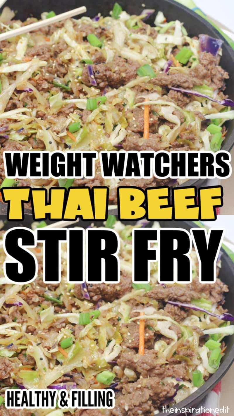 Weight Watchers Thai Stir Fry 2