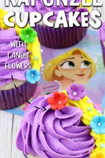 rapunzel cupcakes disney princess party food