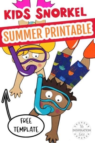 kids summer paper craft