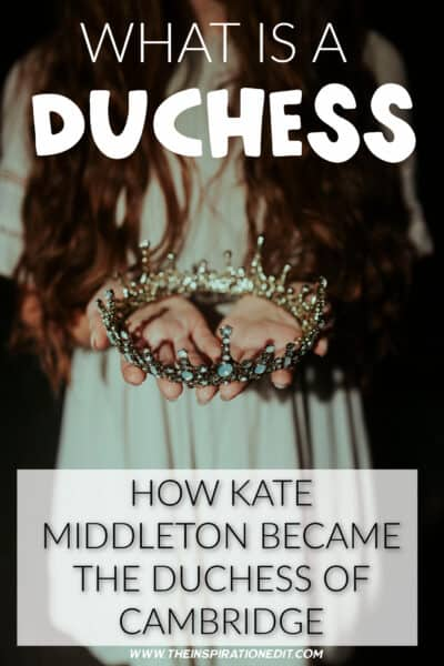 HOW kate middleton became the duchess of cambridge