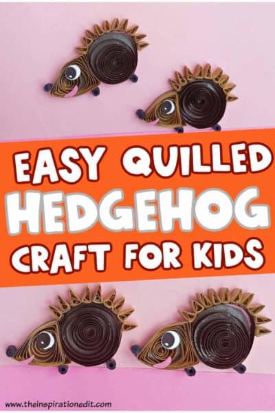quilled-HEDGEHOG-CRAFT