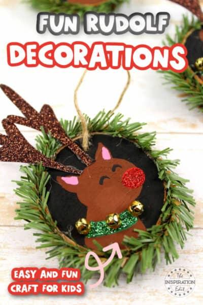 rudolf christmas decoration