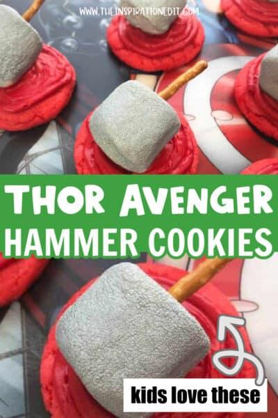 Thor Superhero Cookies You Will Love