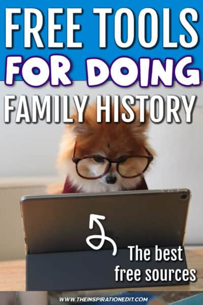 Free tools for family history