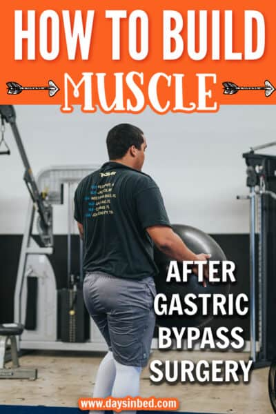 Gaining muscle after gastric bypass surgery
